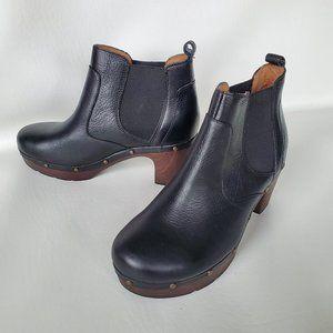 Clarks Ledella Star Clog Chelsea Boot black 7